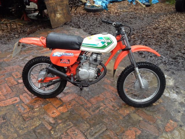 honda xr 75 1977 registered mot monkey bike with 50cc. Black Bedroom Furniture Sets. Home Design Ideas