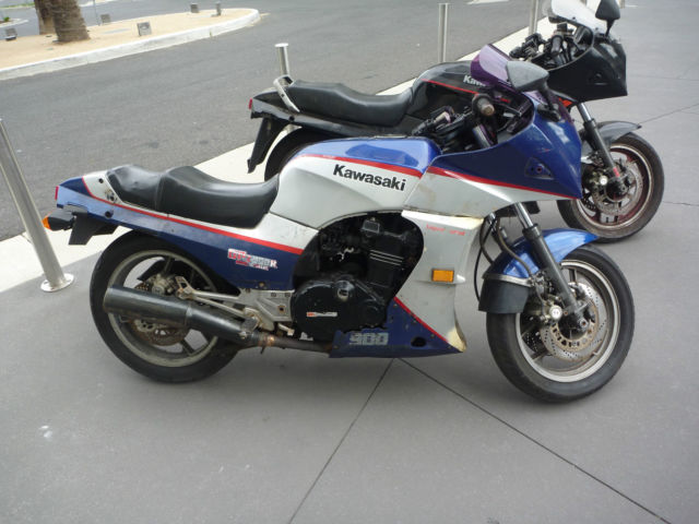 Kawasaki Gpz900r 1984 Model Blue For Sale Kalbar Qld