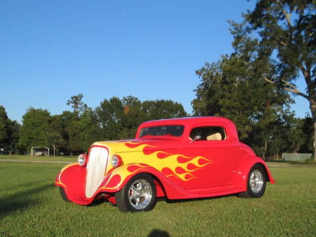 1934 Chevorlet 3W Coupe Street Rod  $49,500.00