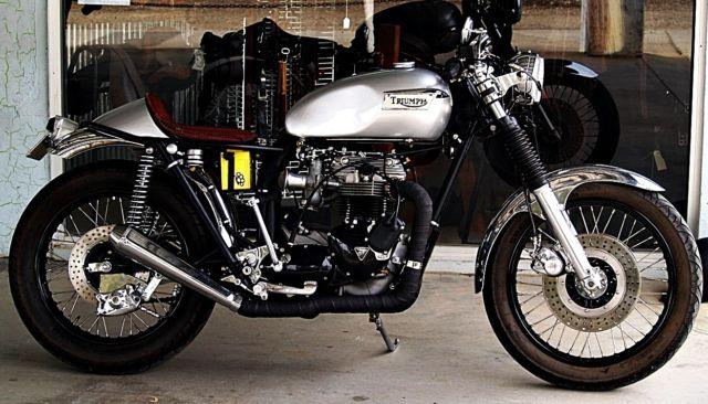 Triumph Bonneville T140 Cafe Racer For Sale Wangaratta VIC