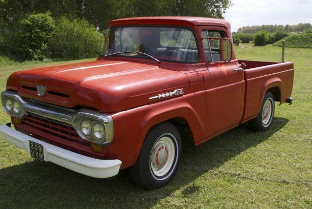 Ford F100 1960 ½ ton truck