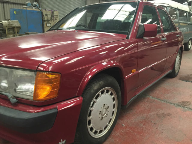 1989 MERCEDES 190E 2.5-16 RED COSWORTH MANUAL