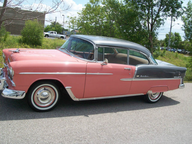 1955 Chevrolet Bel Air Base Hardtop 2-Door 4.3L
