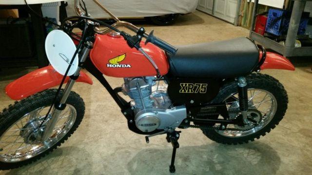 Honda xr 75 collectors rare find vintage