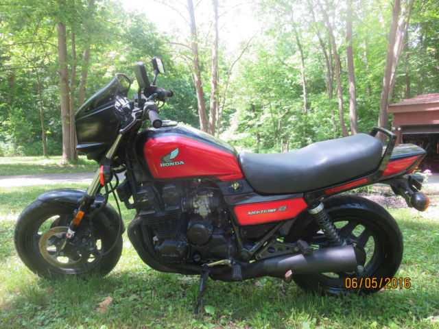 1986 Honda Nighthawk CB700S, new tires and battery