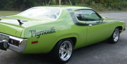 Plymouth Road Runner, Mopar, Restored Classic American Muscle Car