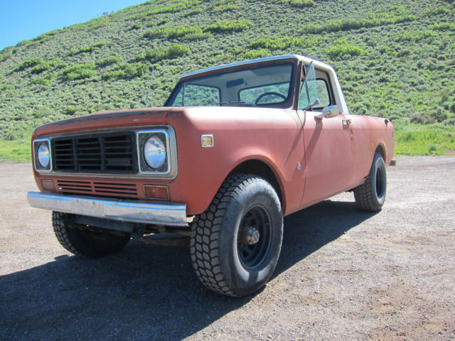 1976 International Scout Terra - Excellent original