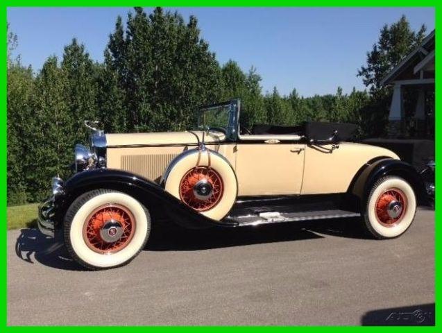 1930 Cadillac Lasalle 340 V8 Manual Convertible