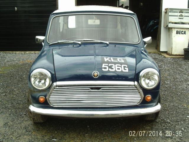 1969 MK2 AUSTIN MINI 1275