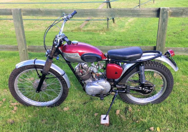 1964 Triumph Tiger Cub Trials Classic Motorbike 200cc Mot Tax Exempt