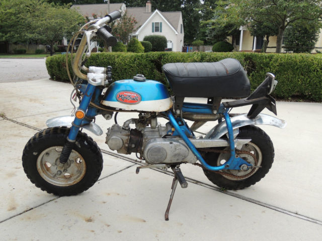 HONDA Z50 MINI TRAIL MONKEY BIKE GENUINE BARN FIND!