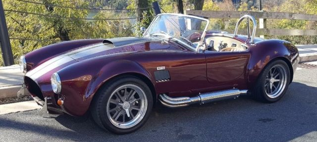 2010 Shelby Cobra Replica, Rare Color Combo, Engine by Ford Racing 351/385HP