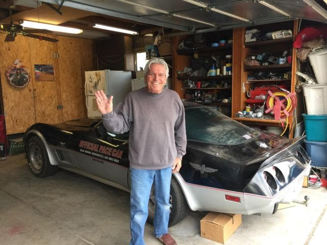 1978 Chevy Corvette OFFICIAL PACE CAR All Numbers Matching 96,000 Original Miles