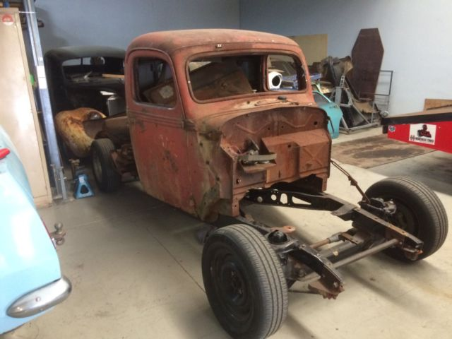 1938 ford pick up unfinished project,rat rod, hot rod