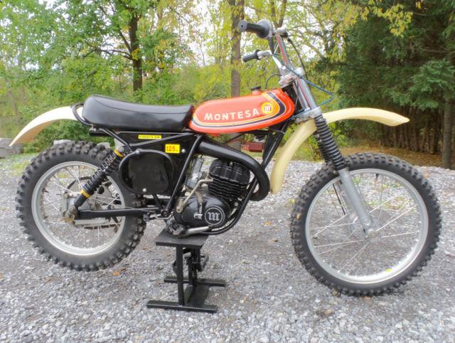 1976 Montesa VA 125 Cappra Motorcycle MX AHRMA Vintage Dirtbike