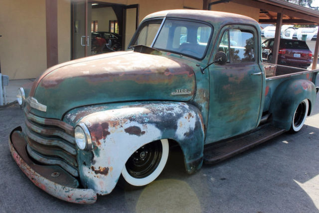 1953 Chevrolet 3100 Restored Field FInd 3100  NUT AND BOLT BUILD