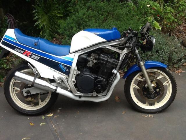 SUZUKI GSXR750 1985 project or parts