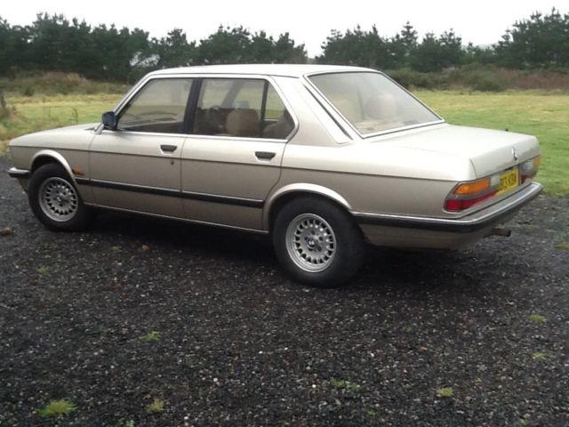 BMW E28 520 Automatic