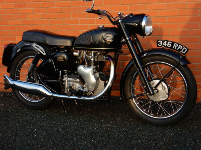 VELOCETTE MSS  1960  500cc ORIGINAL TRANSFERRABLE REGISTRATION NUMBER