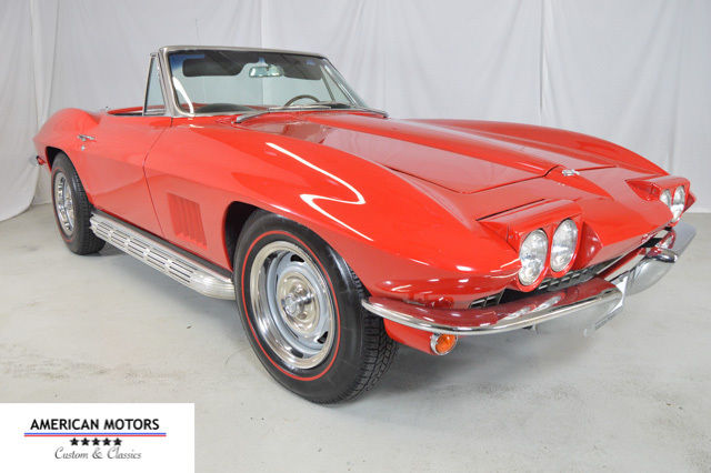 1967 Corvette Convertible 327, Matching #'s, Power Windows, Side Pipes, RARE!