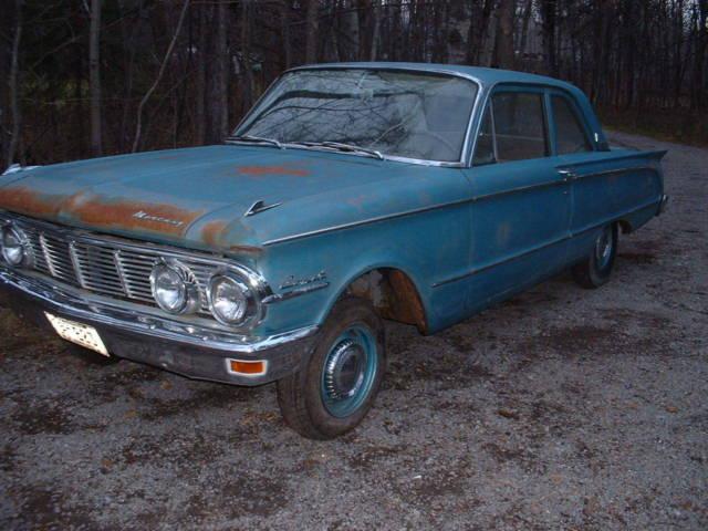 1963 Mercury Comet 2dr post barn find stored since 1971 restoration or rest-mod