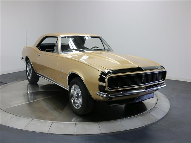 1967 Chevrolet Camaro RS 37,218 Miles Gold  327ci Manual