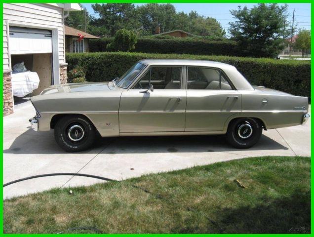 1967 Chevrolet Nova II Radio Delete Used Automatic RWD Chevy