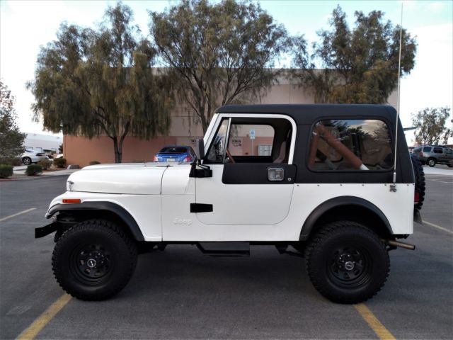 1983 JEEP CJ7  SAME OWNER PAST 25 YEARS  RESTORED & READY TO ENJOY - SEE VIDEO