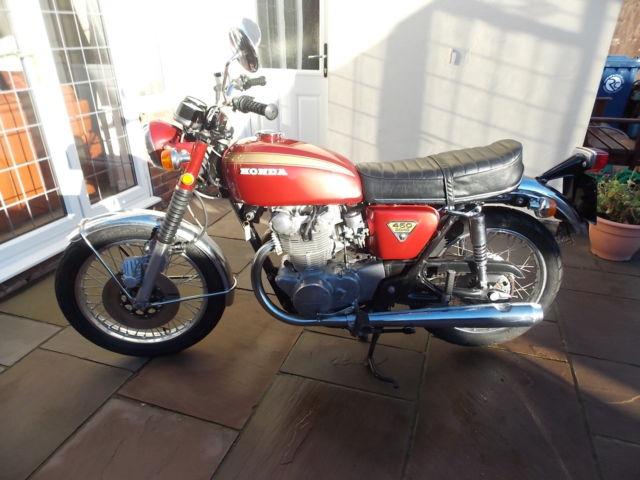Honda CB450 DOHC K3