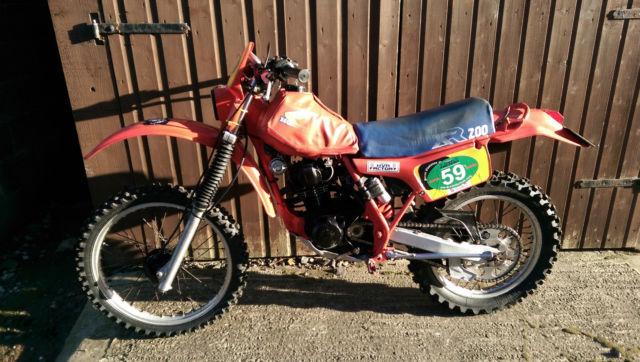 HONDA XR 200 1983