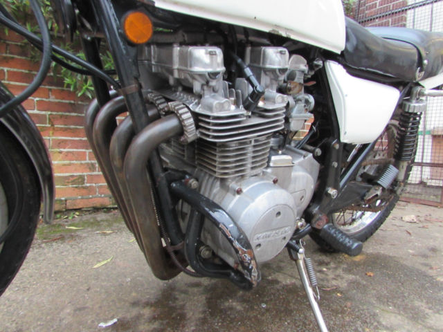 1976 KAWASAKI Z650 KZ650 B1 BARN FIND PROJECT PARTS BIKE CLASSIC