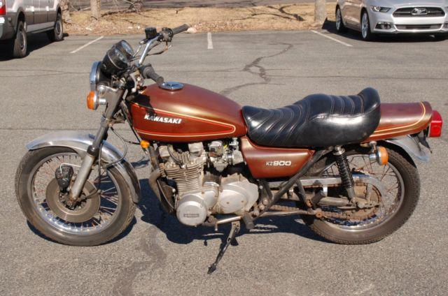 Kawasaki KZ900 KZ 900 1976 76