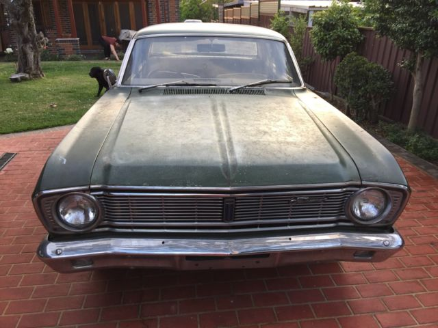 1968 Ford Fairmont sedan (GT Falcon project)