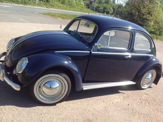 1954 English Original RHD VW Oval Beetle