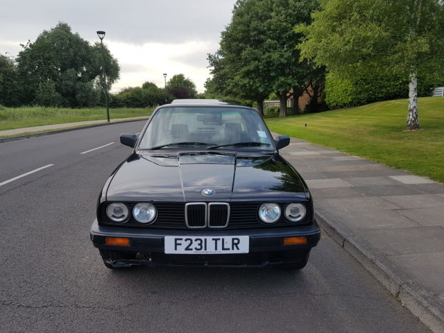 Real Barn Find 1989 BMW 318i E30, Low Mileage, Full Service History, Full M.O.T