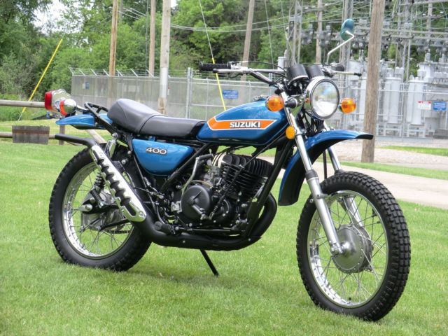 "1973 Suzuki TS400 K Model Vintage Enduro  ""restored to original condition"""