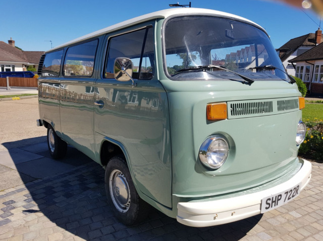 "Volkswagen ""Bay Window"" Van ripe for Camper Conversion. 1977"