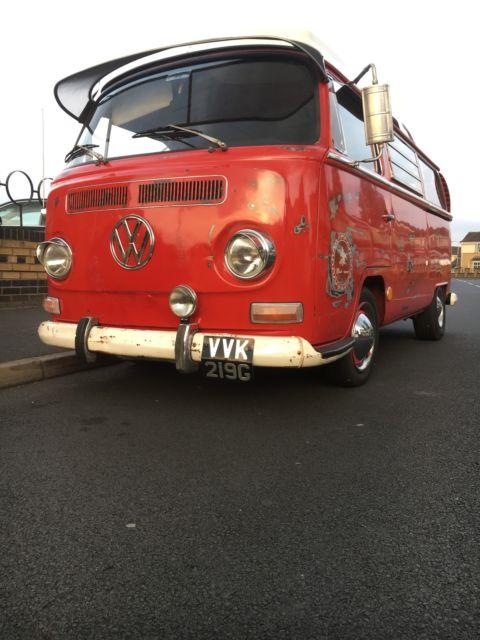 Volkswagen camper T2 Westy 1969