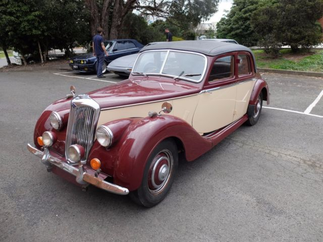 1950 Riley 1.5 (Not Jaguar, Mercedes, MG)