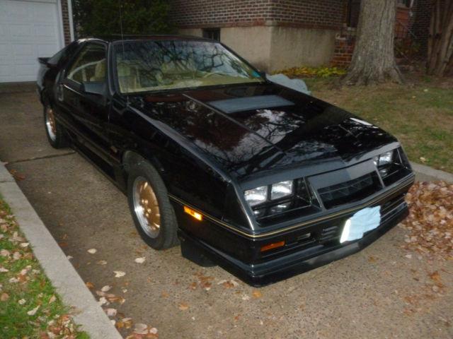 1986 Dodge Daytona Turbo Z CS survivor