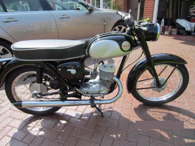 1968 BSA BANTAM D14/4 IN BLACK FULLY RESTORED