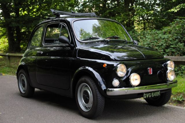 1972 CLASSIC FIAT 500 L LUSSO PHOTOGRAPHIC RESTORATION 650cc ENGINE SYNCHRO BOX