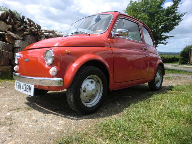 FIAT 500 CLASSIC 1974 with 12 MONTHS MOT
