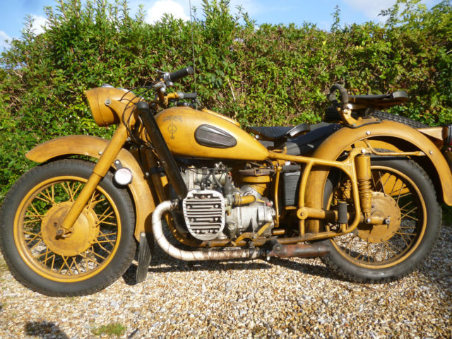 Ural K750 Sidecar Outfit 1962 Tax Exempt New Mot Not