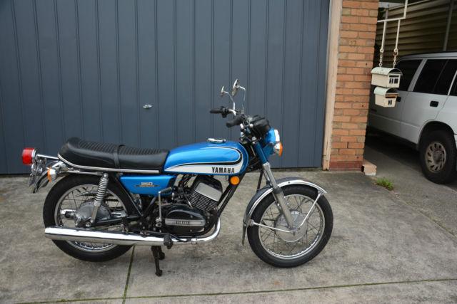 1972 Yamaha RD250 original unmolested.Great fun to ride