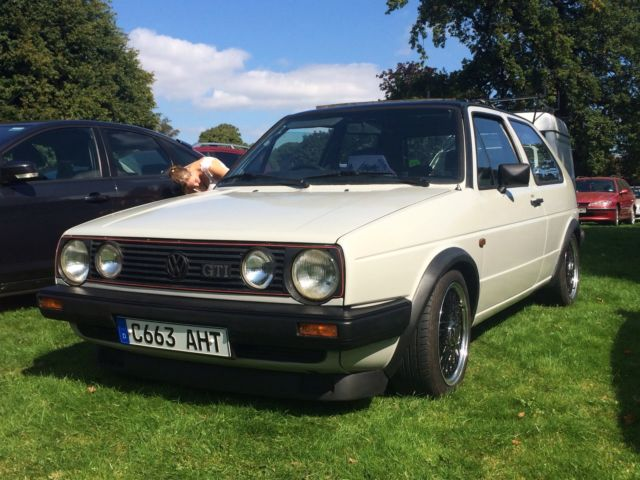 1985 VW Golf GTI 8V. Mk2. Type 19 Small Bumper. 3 Door.