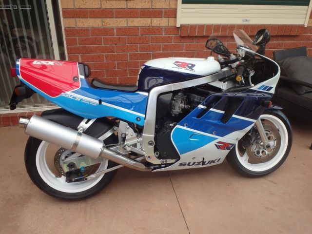Suzuki GSXR 750 RK (RR)  1989 Model, Limited To 500 Only Worldwide,