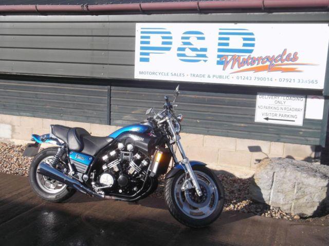 1989 Yamaha V-Max 1200cc Custom BLUE
