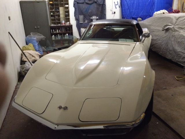 1972 CORVETTE CONVERTIBLE 350 AUTO CHROME BUMPER  !!!!
