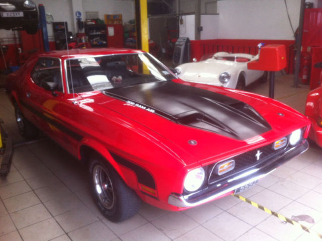 1971 Ford Mustang Notchback V8 Red (Mach 1 styling) (Long MOT and Tax Exempt)